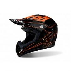 AIROH STARSTRUCK SPACER BLACK/FLUO ORANGE (1)